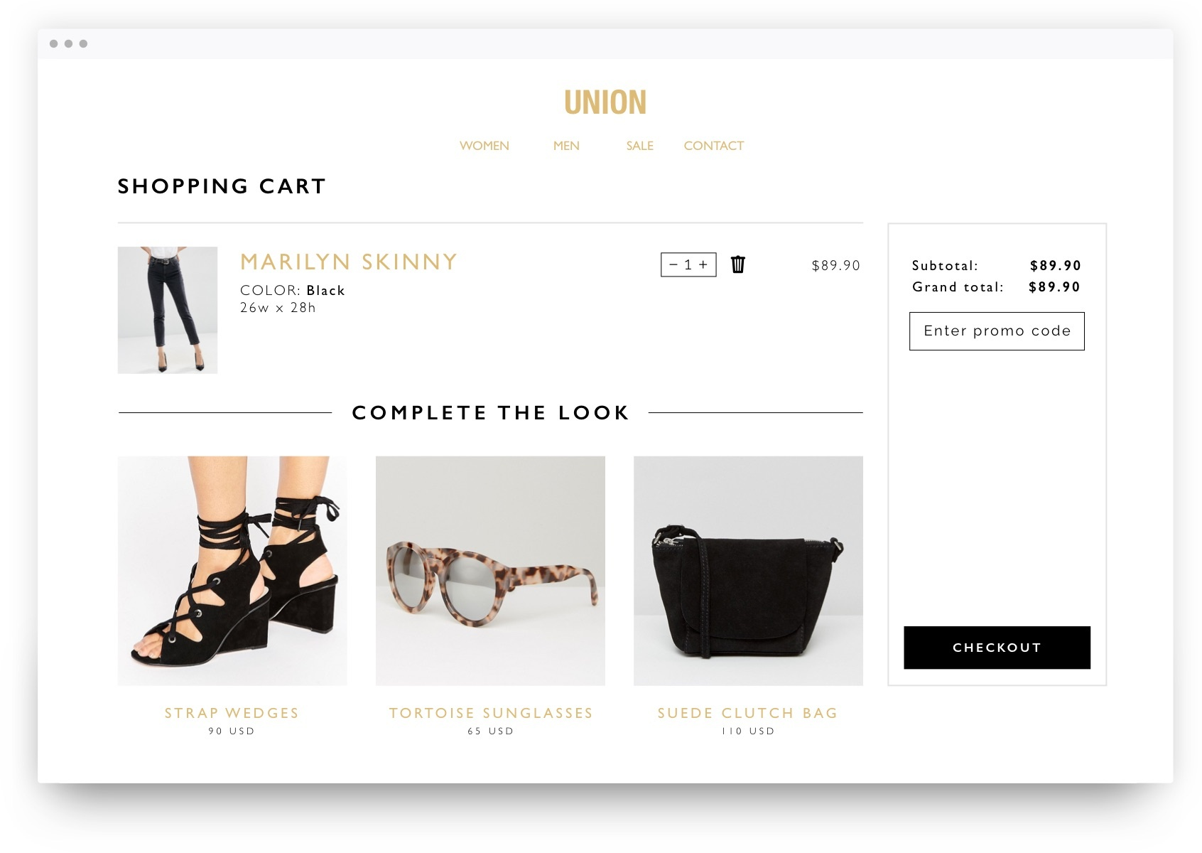 Promote upsell through product recommendations